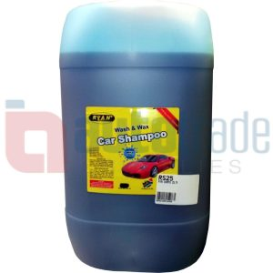 RYAN WASH & WAX SHAMPOO 25L