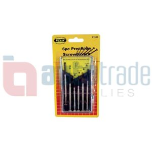 SCREWDRIVER JEWELERS 6PC