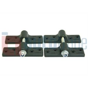 CANOPY CLAMP 2PC BLACK