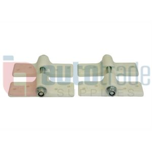 CANOPY CLAMP 2PC WHITE