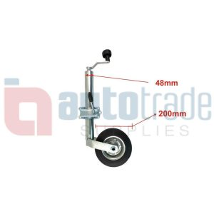 TOW HITCH JOCKEY WHEEL