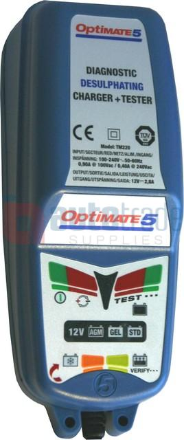 OPTIMATE 5 SMART CHARGER 192AH