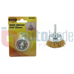 WIRE BRUSH CUP  50mm
