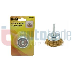 WIRE BRUSH CUP  60mm