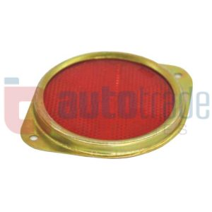 REFLECTOR 76MM RED