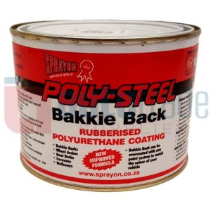 BAKKIE BACK BRUSH RUBBERISER