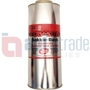 BAKKIE BACK SPRAY RUBBERISER