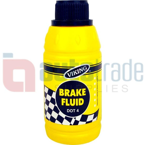 BRAKE FLUID DOT4 (200ML)