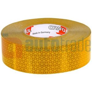 TAPE REFLEXITE YELLOW 50M