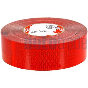 TAPE REFLEXITE RED 50M