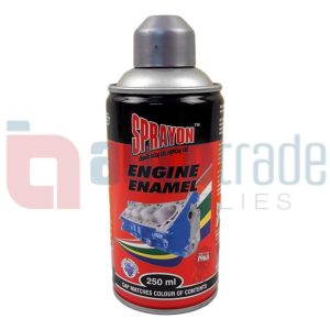 SPRAY PAINT ENGINE SILVER