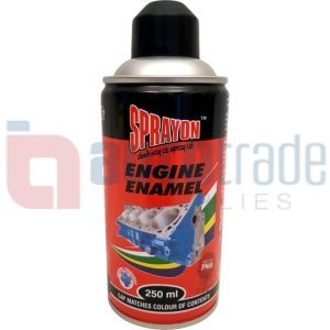 SPRAY PAINT ENGINE BLACK