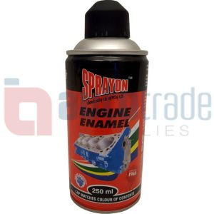 SPRAY PAINT ENGINE BLACK MATT