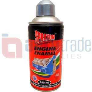SPRAY PAINT ENGINE CHROME