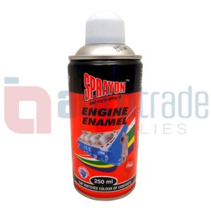 SPRAY PAINT ENGINE WHITE