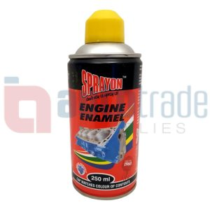 SPRAY PAINT ENGINE YELLOW