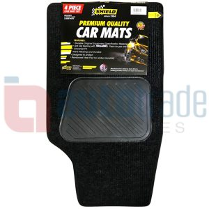 SHIELD CAR MATS LARGE 4PC