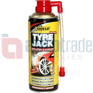 SHIELD TYRE JACK 340ML