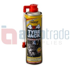 SHIELD TYRE JACK 4X4 500ML