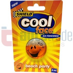SHIELD COOL FACE BEACH PARTY