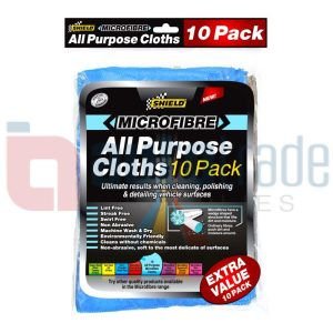 SHIELD MICROFIBRE TOWELS 10PC