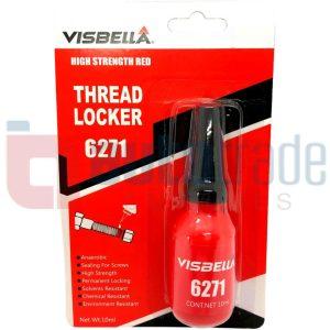 VISBELLA LOCK NUT RED   10ML