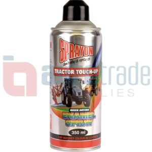 SPRAY PAINT TRACTOR BLACK