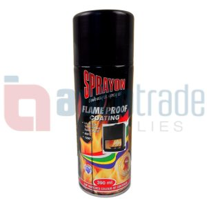 SPRAY PAINT FIRE BLACK