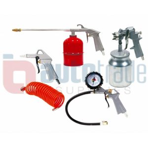 MUZI SPRAY GUN KIT 5PC