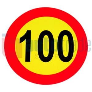 STICKER 100KM (1PC)