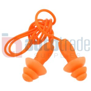 EAR PLUGS RUBBER TYPE 10PC