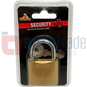MACKIE BRASS PADLOCK 38MM