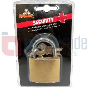 MACKIE BRASS PADLOCK 50MM