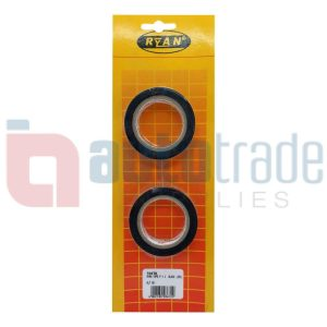 RYAN TAPE P.V.C  BLACK (2PC)