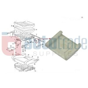 SEAT GUIDE INNER GOLF  (10PC)