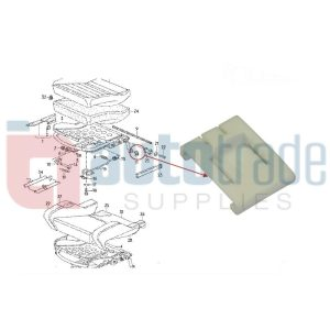 SEAT GUIDE OUTER GOLF  (10PC)
