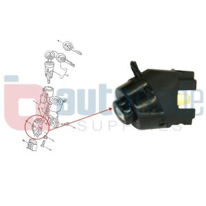 SWITCH IGNITION CONTACT (6PIN)