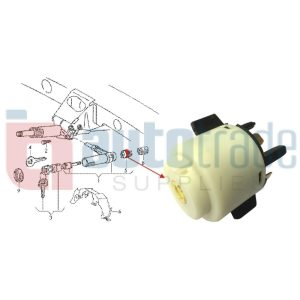 SWITCH IGNITION CONTACT (8PIN)