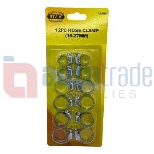 RYAN HOSE CLAMP ASSMT (12PC)