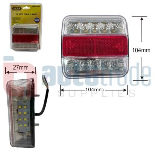 LAMP TAIL 18LED (104x27mm)