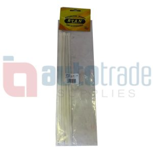 RYAN CABLE TIES 10PC - CLEAR