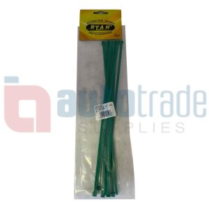 RYAN CABLE TIES 10PC - GREEN