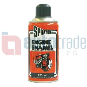 SPRAY PAINT ENGINE MACH/GREY
