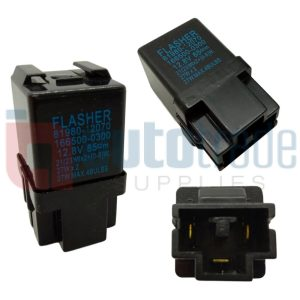 FLASHER UNIT (BLACK)