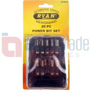 POWER BIT SET (20PC)