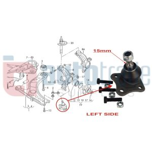 BALL JOINT (L/H)