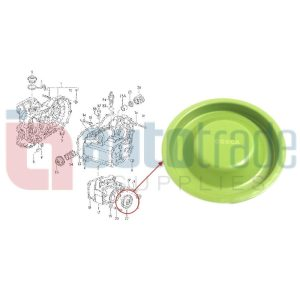 GEARBOX COVER SEAL (GREEN)